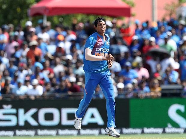 India pacer Navdeep Saini