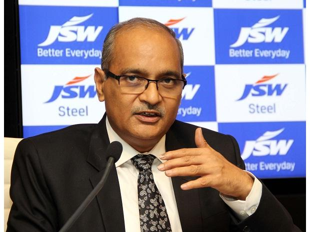JSW Steel Joint Managing Director and Group Chief Financial Officer Seshagiri Rao