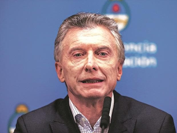 """""""We are going to reverse this bad election and we are going to reach the second round… Every election is a message and we understand it"""" Mauricio Macri Argentina president"""