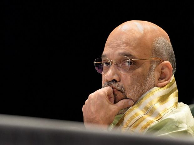 File photo of Home Minister Amit Shah. Photo: PTI
