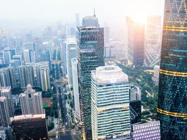 Guangzhou's Central Business District