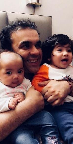 'The decision to have a second child was more for my son than for myself' --- Rakesh Kumar, Marketing consultant, New Delhi