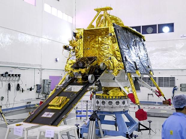 June 29, 2019 - Rover after completion of all tests integrated with lander Vikram