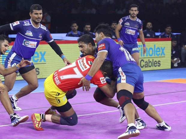 PKL 2019, Haryana Steelers vs Gujarat Fortunegiants