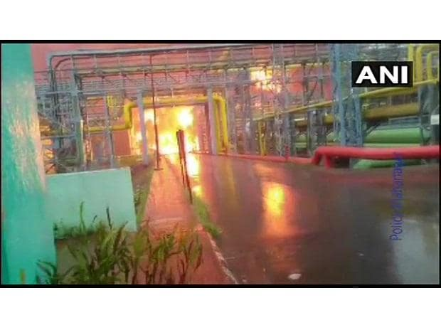 4 killed in fire at ONGC plant in Navi Mumbai; rescue operation underway