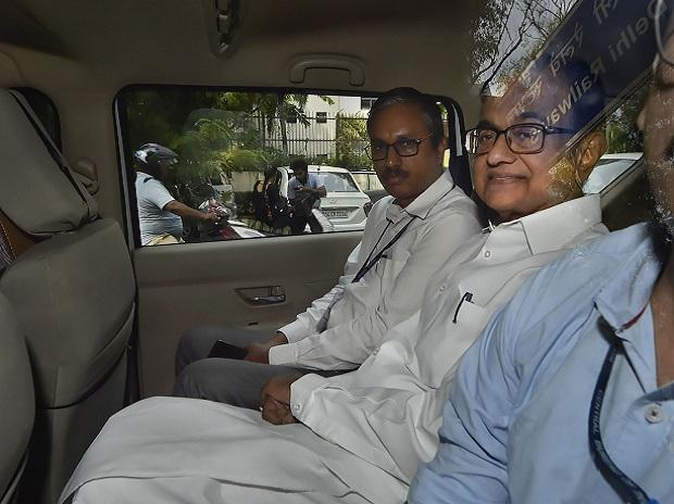 New Delhi: Former finance minister P Chidambaram arrives to be produced before a Delhi court after expiry of his 2-day CBI custody in the INX Media corruption case, in New Delhi, Thursday, Sept 5, 2019. (PTI Photo/Ravi Choudhary) (
