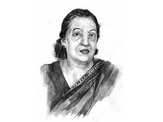 Anuradha M Chenoy, former professor and chairperson at the Centre for Russian and Central Asian Studies of JNU | Illlustration: Binay Sinha