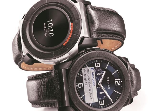 Titan smartwatches