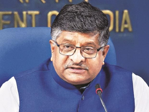 Minister for Electronics and IT Ravi Shankar Prasad