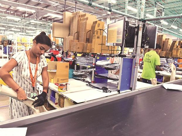 With this, Amazon now has storage capacity of over 6 million cubic feet spread across 14 fulfillment centres in Maharashtra | Photo: Kamlesh Pednekar