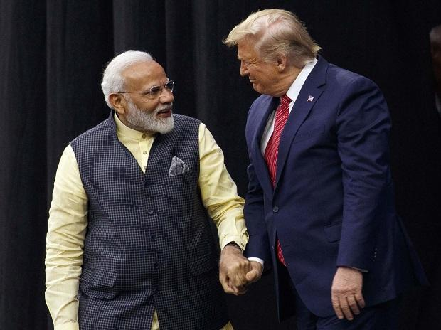 Prime Minister Narendra Modi with US President Donald Trump at NRG Stadium, Sunday, Sept. 22, 2019, in Houston. (Photo: AP/PTI)