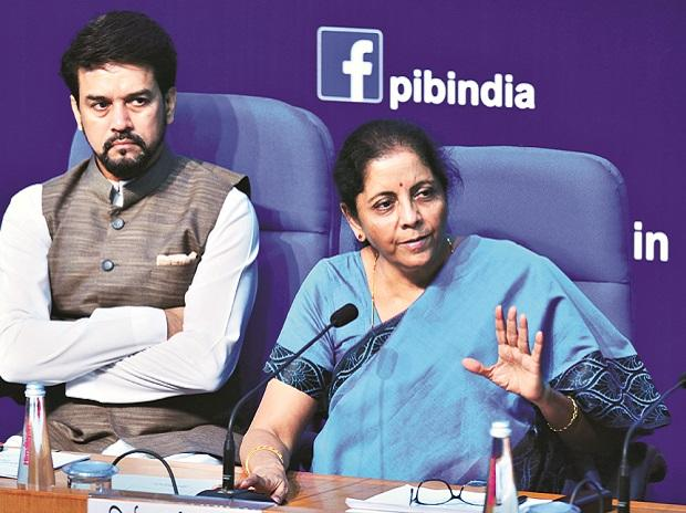 Sitharaman has said she is expecting improved compliance after the tax cut and that it would help her stick to the fiscal deficit target