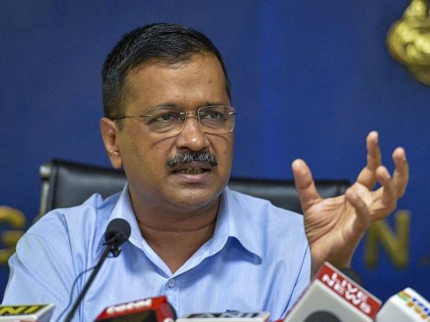 Delhi Chief Minister Arvind Kejriwal addresses a press conference, in New Delhi, Sept. 25, 2019. (Photo:PTI)