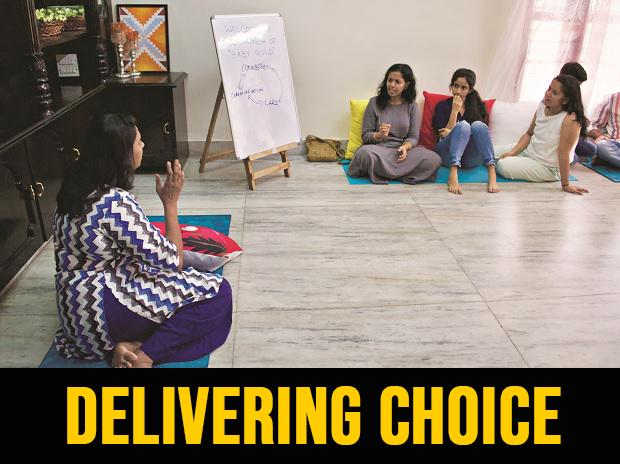 A birthing centre in Bengaluru