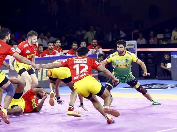 Pardeep Narwal, PKL 2019, Patna Pirates vs Gujarat Fortunegiants