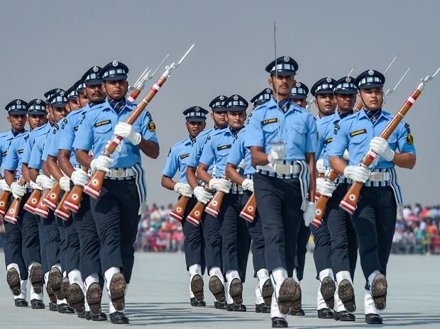 Air Force conducts full dress rehearsal