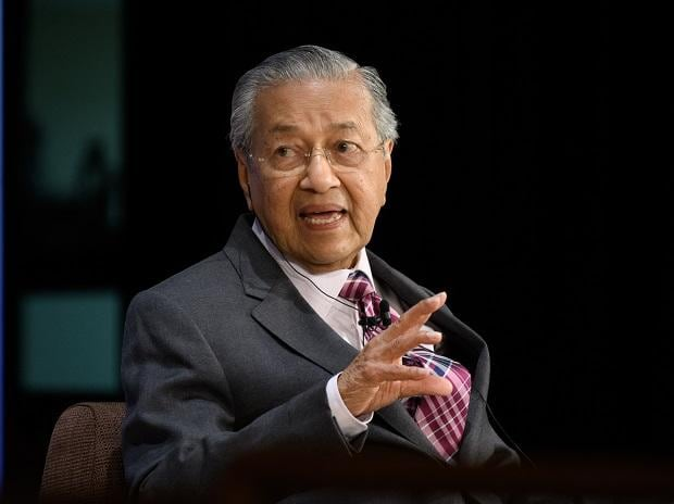 Mahathir Mohamad, PM of Malaysia. Photo: Bloomberg