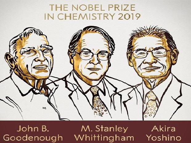 2019 Nobel Prize in Chemistry has been awarded to John B. Goodenough, M. Stanley Whittingham and Akira Yoshino
