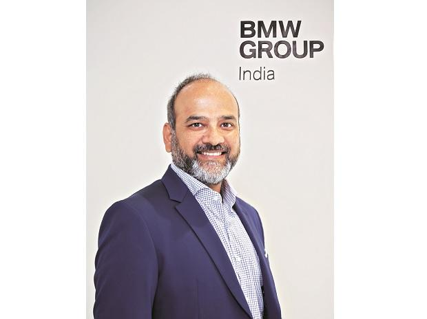 Rudratej Singh, CEO BMW Group India