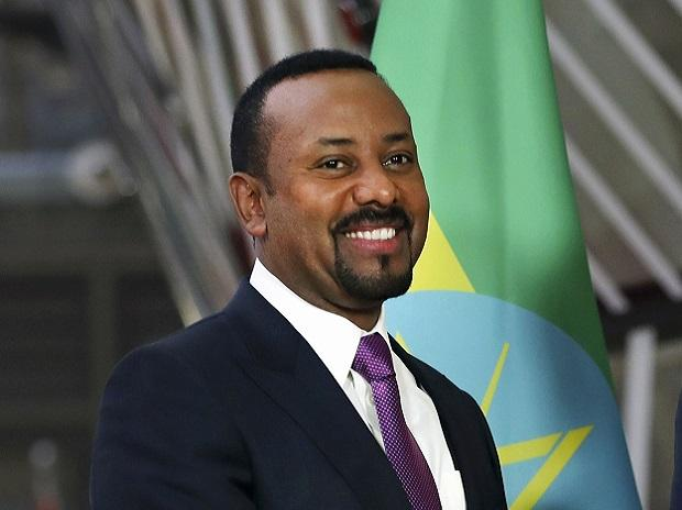 Brussels: FILE - In this Thursday, Jan. 24, 2019 file photo, Ethiopian Prime Minister Abiy Ahmed at the European Council headquarters in Brussels. The 2019 Nobel Peace Prize was given to Ethiopian Prime Minister Abiy Ahmed on Friday Oct. 11, 2019. AP