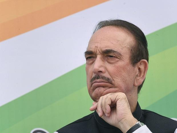 Chandigarh: Senior Congress leader Ghulam Nabi Azad at the release of party's Manifesto for Haryana Vidhan Sabha elections 2019, in Chandigarh, Friday, Oct. 11, 2019. (PTI Photo)  (