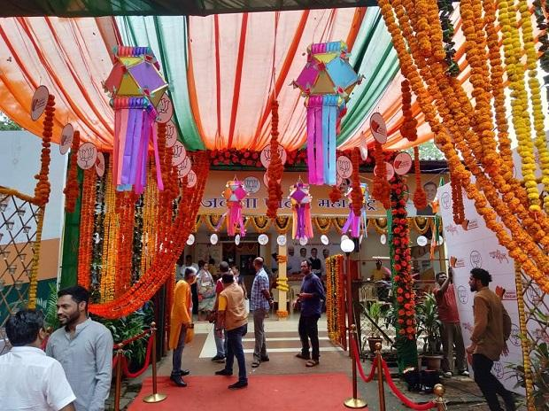 Celebrations underway as prominent candidates leading in Maharashtra
