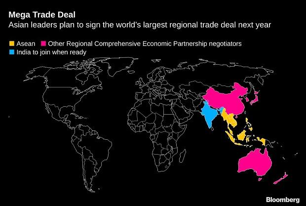 India pulls out of RCEP, paves way for 15 nations to sign China-backed deal