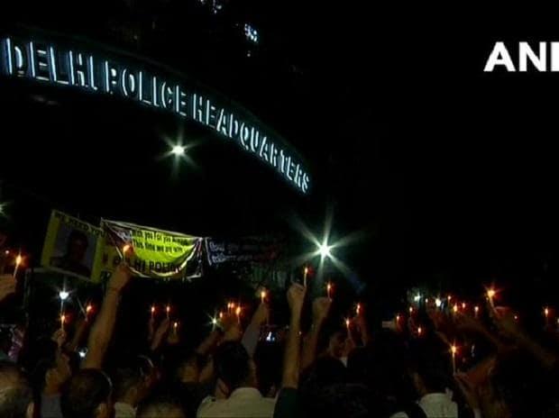 tis hazari scuffle, delhi police