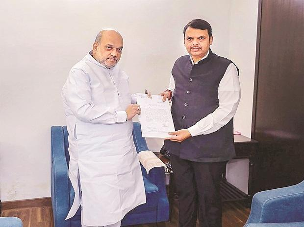 Chief Minister Devendra Fadnavis had met BJP chief Amit Shah on Monday in New Delhi. On Tuesday, he held a meeting with party leaders in Mumbai
