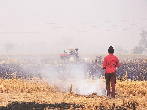 stubble burning, air pollution