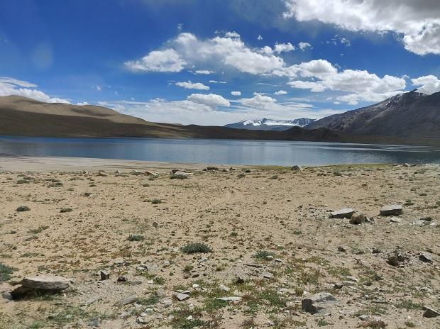 Tso Moriri in Ladakh. Photo: Khalid Anzar