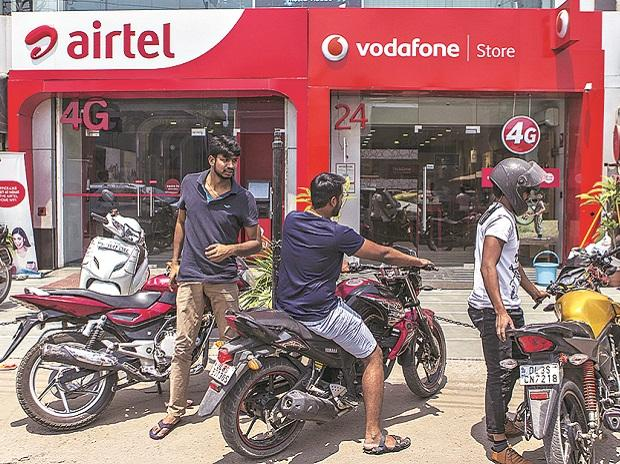 Retail stores of Airtel and Vodafone Idea | File photo