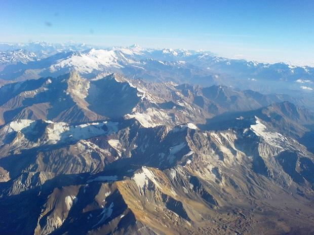 Andes, mountains, glacier, ice melting