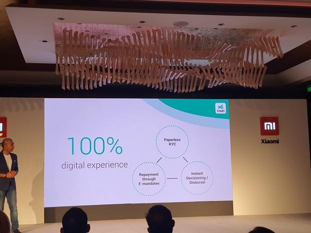 Manu Kumar Jain, Xiaomi India, Mi Credit