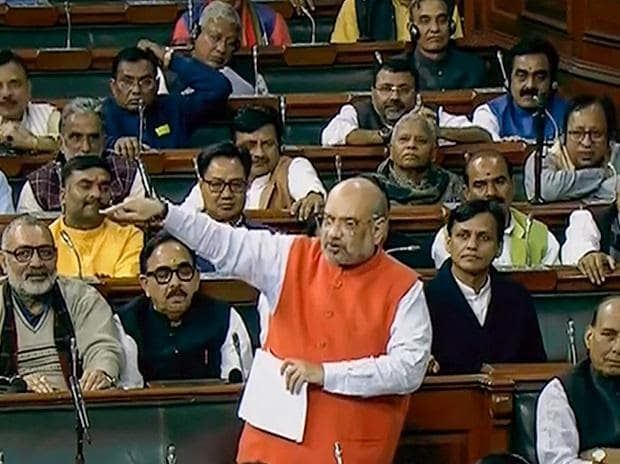 Amit Shah, Citizenship (Amendment) Bill