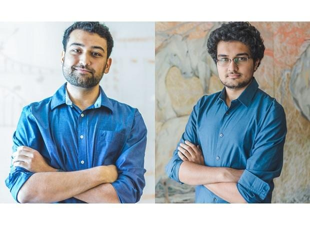 3one4 Capital founder Pranav Pai (left) and Siddarth Pai