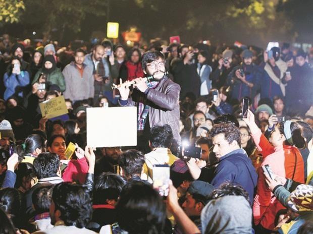 Jantar Mantar, Delhi, protests, Anti-CAA protests, citizenship, curfew