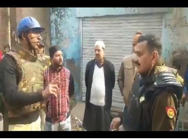 Meerut Police, Citizenship, protest, Communal rant, Meerut cop,