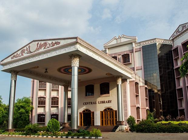 Central library of NIT Trichy
