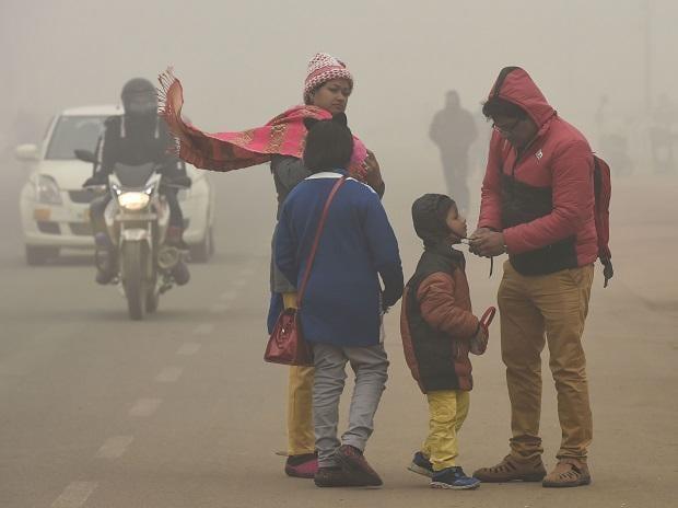 Delhi winter