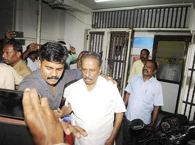 Tamil writer, Nellai Kannan arrested in Perambalur | Credits: @ANI