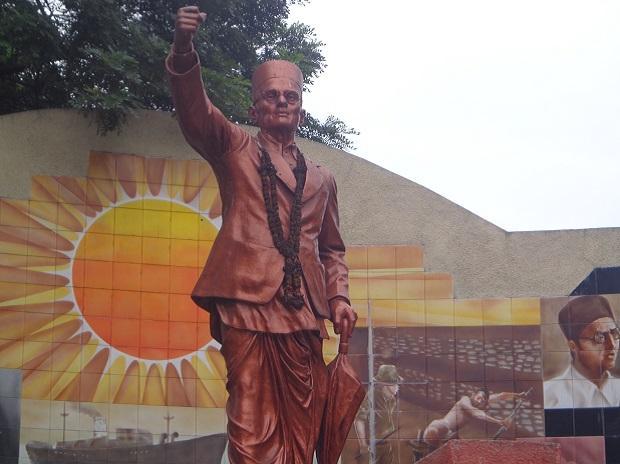 Veer Savarkar statue   Wikimedia Commons