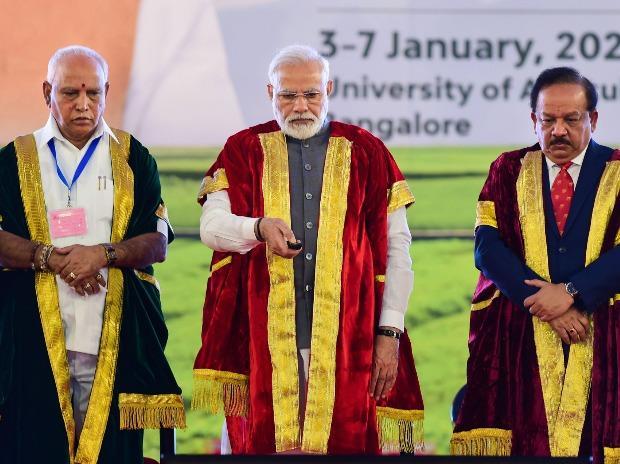 Prime Minister Narendra Modi, I-STEM portal, Science and Technology Minister Harsh Vardhan, Karnataka Chief Minister B S Yediyurappa