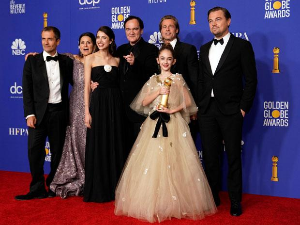 golden globe 2020, Once Upon A Time...In Hollywood