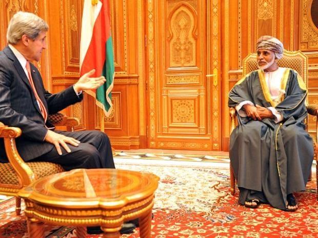 Oman's late Sultan Qaboos bin Said al Said