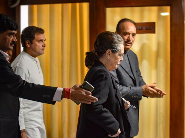 Sonia Gandhi to meet with CMs of Congress-ruled states to discuss COVID-19 situation