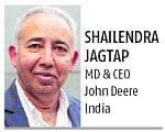 Shailendra Jagtap, MD & CEO John Deere India