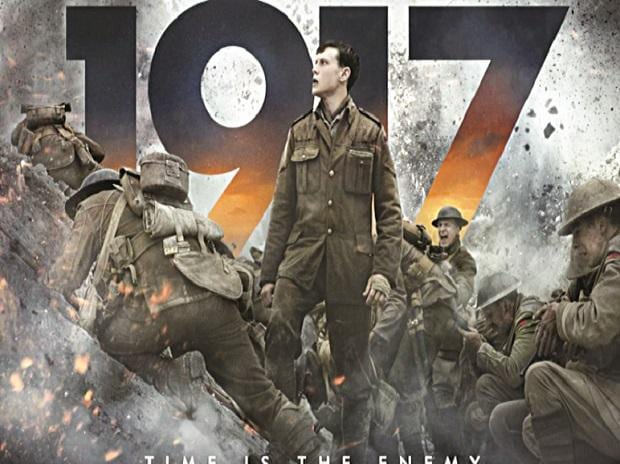 Movie poster of '1917'
