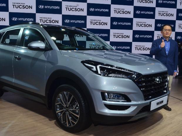 Hyundai unveils New 2020 Tucson at Auto Expo