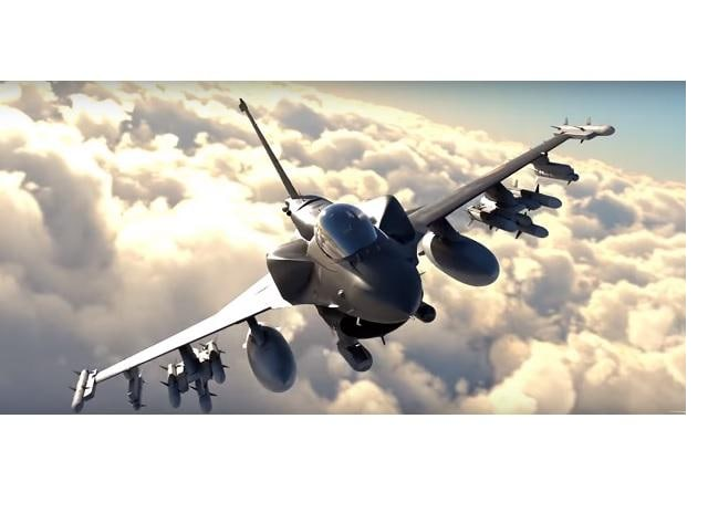 F-21 fighter jet (Screengrab from YouTube video by Lockheed Martin)